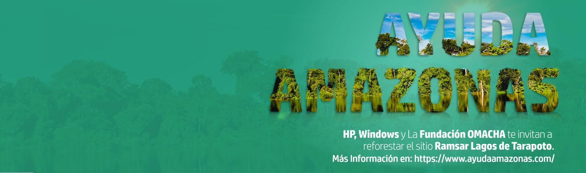 Laptops Premium HP. Compra productos HP y ayuda al Amazonas.