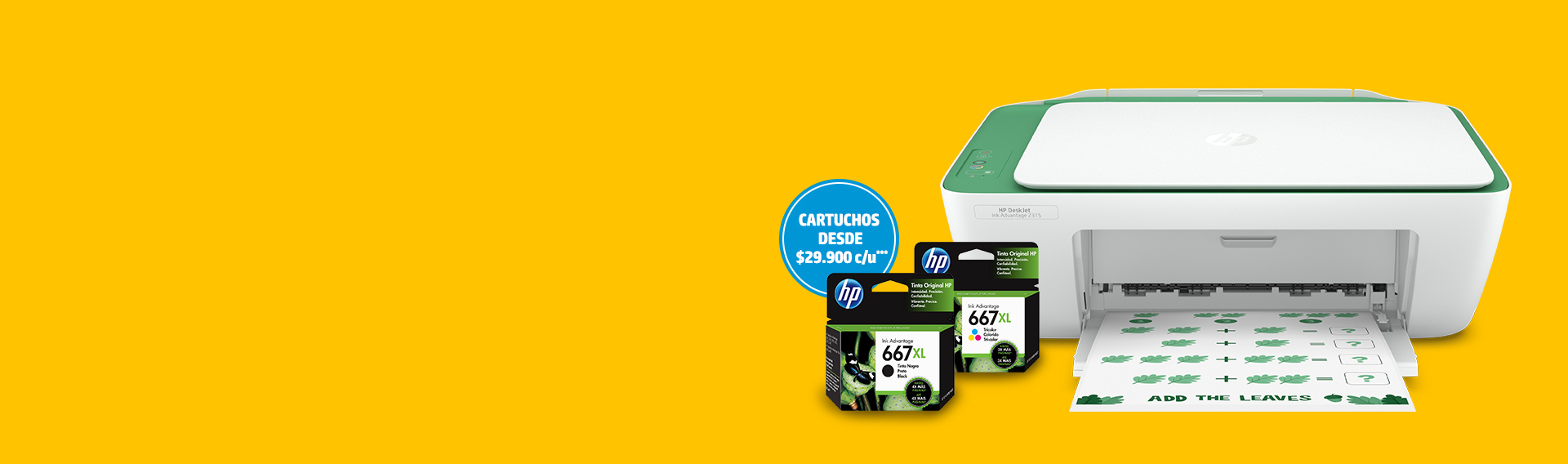 Impresoras HP. Ahorra hasta 20%* más 10% adicional con cupón** HPNEWTECH.