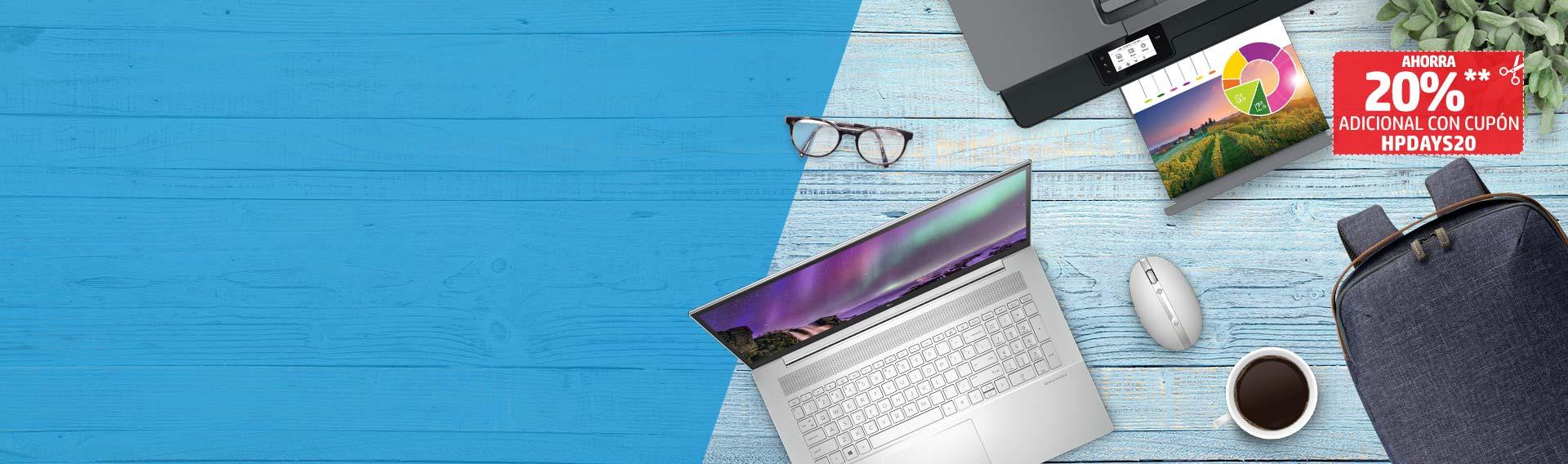 Con Días HP ahorra hasta 30% + cupón. Diseño y rendimiento de nivel superior.