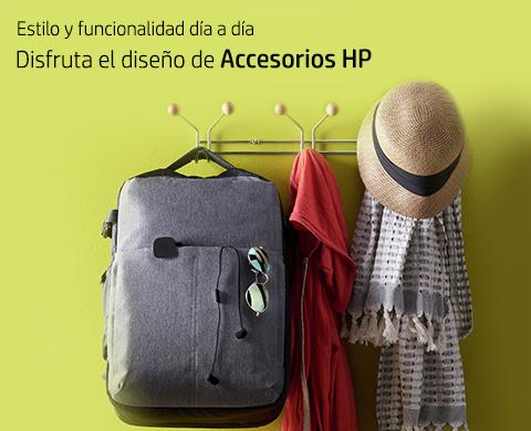 Disfruta el diseño de Accesorios HP.