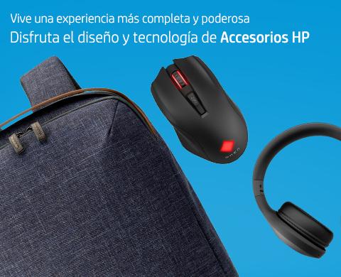Disfruta el diseño y tecnología de Accesorios HP.