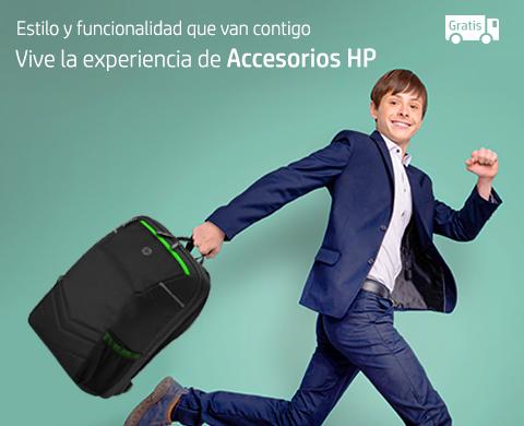 Vive la experiencia de Accesorios HP.