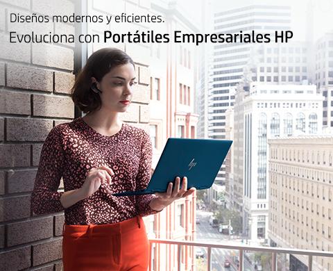 Evoluciona con Portátiles Empresariales HP.