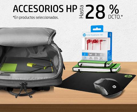 Accesorios HP con hasta 28% dcto.*