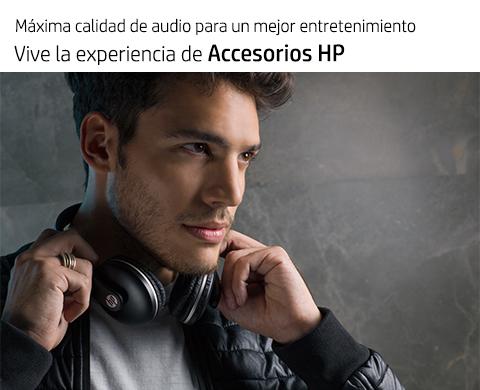 Estílo y funcionalidad día a día. Experimenta Accesorios HP.