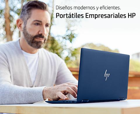 Diseños modernos y eficientes. Portátiles Empresariales HP.
