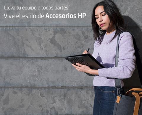 Vive el estilo de Accesorios HP.