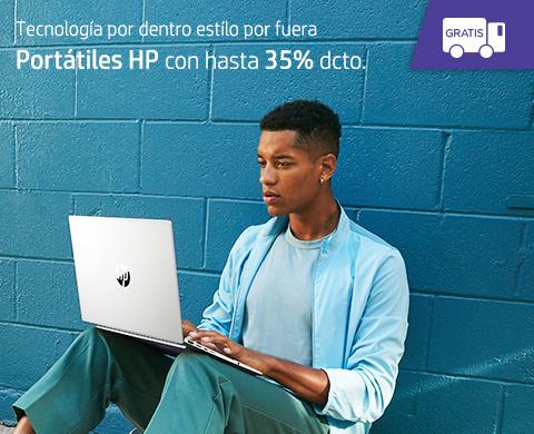 Portátiles HP con hasta 35% dcto.