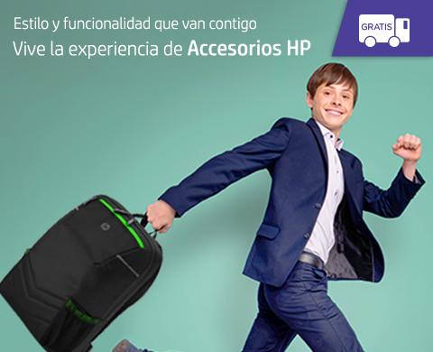 Vive la experiencia de Accesorios HP