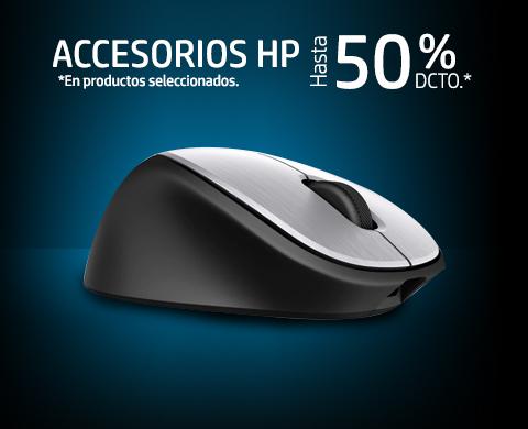 Accesorios HP hasta 50%* dcto.