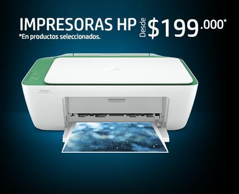 Impresoras HP. Desde $199.000*